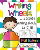 Writing Wheels for Work on Writing Fall Edition