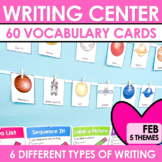 Writing Work Station for February