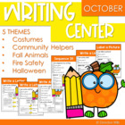 Writing Work Stations for October