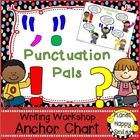 "Writing Workshop Anchor Chart - ""Punctuation Pals"""