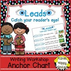 "Writing Workshop Anchor Chart - ""Writing Leads to catch th"