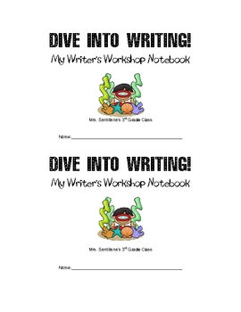 Writing Workshop - Dive Into Writing