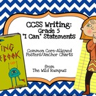 "Writing Workshop: ""I Can"" Statements for the Common Core {"