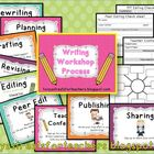 Writing Workshop process posters and graphic organizers