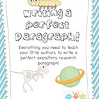 Writing a Perfect Paragraph! Expository Paragraph Writing