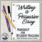 Writing a Persuasive Essay Handout