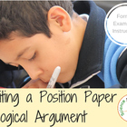 Writing a Position Paper or Logical Argument