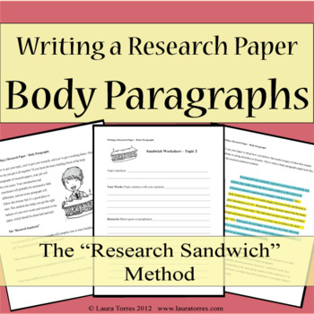 Writing a Research Paper - Body Paragraphs