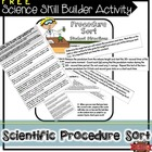 Writing a Science Procedure Sorting Activity