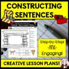 Writing a Sentence Using the Writing Process Activity Lesson Plan