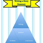 Writing a Story Summary With Sentence Frames