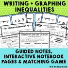 Writing and Graphing Inequalities Guided Notes + Activitie