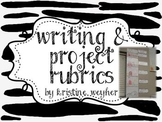 Writing and Project Rubric