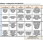 Writing and Reflection Rubric - General - College Success
