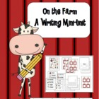 Writing on the Farm {A Mini-Unit}