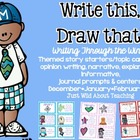 Write This & Draw That! {writing story starters with topic