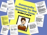 Writing to Prompts: Community Journals to Support the Common Core