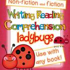 Writing/Reading Comprehension {All about LADYBUGS} Researc