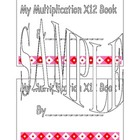 X12 Multiplication Book