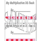 X6 Multiplication Book