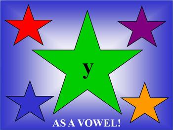 Y as a Vowel Phonics PowerPoint Presentation