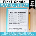 YEAR-LONG   1st Grade Spelling Assessments