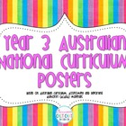 Year 3 Australian National Curriculum Posters