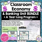 Year-Long Banking Activities, Classroom Economy, Checking