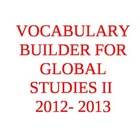 Year Long Intensive Vocabulary Builder for World History