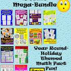 Year Round Multiplication Mosaic Bundle-Holiday Themed!!