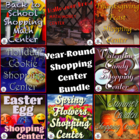 Year Round Shopping~Money Counting/Making Change Math Centers
