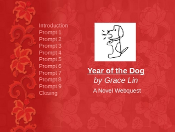 Year of the Dog-  Research and Webquest