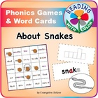 Year of the Snake: Sample Phonics Game with Color Hints on Vowels