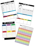 Yearly Planner and Weekly Organizer for Teachers (2012-201