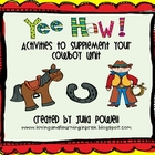Yee Haw! Math Game Freebie