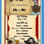 Yo, Ho, Ho, It's a Scholar's Life for Me!