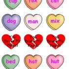 You Broke My Heart  Kindergarten CVC Valentine Game