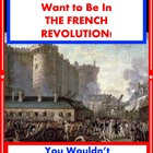 You Wouldn&#039;t Want to in the French Revolution!  Reading fo