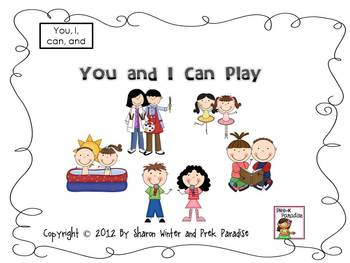 You and I Can Play Sight Word Book for Beginning Reader