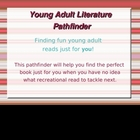 Young Adult Literature Pathfinder