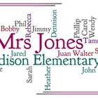 Your Own Classroom Wordle!!