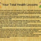 Your Total Health PowerPoint Slideshow