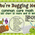 You're Bugging Me! 10 More and 10 Less Math Station