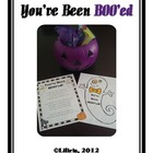 You&#039;ve Been BOO&#039;ed!  A Fun Halloween Activity