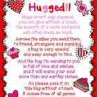 You've Been Hugged Valentine's Fun FREEBIE