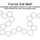 You've Got Mail Letter Identification Activity