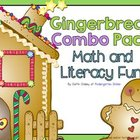 Gingerbread Literacy and Math COMBO Pack
