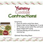 Yummy Cookie Contractions