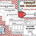 Yummy! Hot Chocolate Literacy Activities