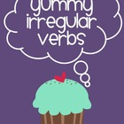 Yummy Irregular Verb Cupcakes